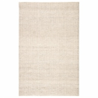 Jaipur Living RUG143182 Limon Indoor & Outdoor Area Rug, Solid Ivory & Gray - 7 ft. 10 in. x