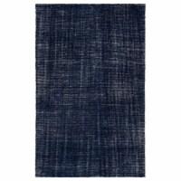 Jaipur Living RUG143186 Limon Indoor & Outdoor Area Rug, Solid Blue & White - 7 ft. 10 in. x