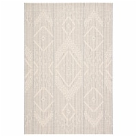 Jaipur Living RUG143364 Shiloh Indoor & Outdoor Tribal Area Rug, Gray & Cream - 2 ft. x 3 ft.