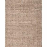 Jaipur Living RUG146057 2 x 3 ft. Sutton Natural Solid Tan & Black Area Rug