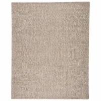 Jaipur Living RUG145795 5 x 8 ft. Jardin Indoor & Outdoor Solid Gray & White Area Rug