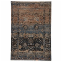 Vibe by Jaipur Living RUG146764 Caruso Oriental Blue & Taupe Area Rug , 5 ft. x 7 ft. 6 in.
