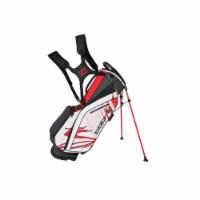 Cobra 90940203 Cobra Golf 2020 Ultralight Stand Bag Black-High Risk Red-Wht - 1