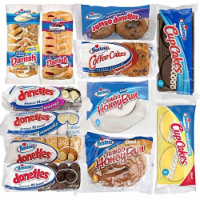 Hostess Variety Pack | Honey Buns, Coffee Cake, Donettes, Cakes, and Danish | 12 Packs - 1