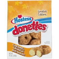 Hostess Donettes Limited Edition Caramel Crunch Mini Donuts