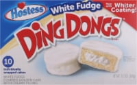 Hostess White Fudge Ding Dongs 10 Count