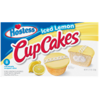 Hostess Iced Lemon CupCakes 8 count