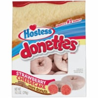 Hostess Donettes Strawberry Cheesecake Flavored Donuts Bag