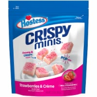 Hostess Crispy Minis Strawberries & Creme Wafer Snacks