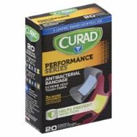 Curad Performance Series Anti-Bacterial Bandages