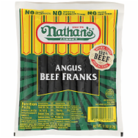 Nathan's Famous Angus Beef Franks 6 Count