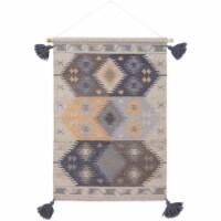 Surya DIA1009-2436 24 x 36 in. Adia Hand Woven Wall Hanging - 100 Percent Wool - 1