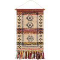 Surya ZEN2000-254 29 x 48 in. Zendaya Hand Woven Wall Hanging - 57 Percent Jute, 33 Percent C