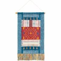Surya ZEN2002-254 29 x 48 in. Zendaya Hand Woven Wall Hanging - 85 Percent Cotton, 12 Percent - 1