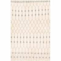 Surya BON2300-268 2 ft. 6 in. x 8 ft. Beni Ourain Hand Woven Rug, Cream & Light Gray - 1
