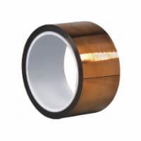 Dupont Film Tape,Polyimide,Amber,2 In. x 50 Ft. - 1