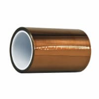 Dupont Film Tape,Polyimide,Amber,6 In. x 50 Ft. - 1
