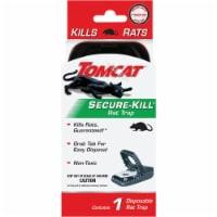 Tomcat Secure-Kill Mechanical Rat Trap (1-Pack) 0360820 - 1