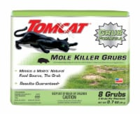 Tomcat Bait Grubs For Moles 8 pk - Case Of: 1; Each Pack Qty: 8; Total Items Qty: 8 - Count of: 1