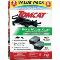 Tomcat Bait Station Blocks For Mice and Rats 2 pk - Case Of: 1;