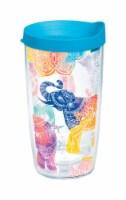 Tervis 16 oz. Mehndi Elephant Clear BPA Free Tumbler - Case Of: 1; Each Pack Qty: 1;