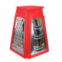 Avon 33537519 8.25 in. Red Collapsible Box Kitchen Grater - 1