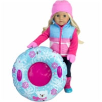 Sophia's by Teamson Kids Winter Outfit and Inner Tube Set for 18  Dolls - 1