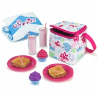 Sophia's by Teamson Kids Picnic Lunch  Set with Food and Cooler for 18  Dolls - 1
