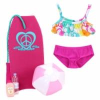 Sophia's by Teamson Kids Bikini and Beach Accessories Set for 18  Dolls - 1