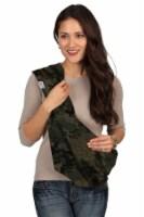 HugaMonkey Camouflage Dark Green Military Infant Baby Soft Carrier Sling - Small - 1 unit