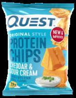 Quest Original Style Cheddar & Sour Cream Protein Chips - 1.1 oz