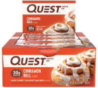 Quest Cinnamon Roll Protein Bars 12 Count