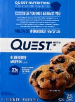 Quest Blueberry Muffin Protein Bars 12 Count