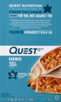 Quest HERO Vanilla Caramel Protein Bars 10 Count