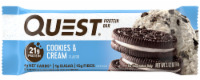 Quest Cookies & Cream Flavor Protein Bar