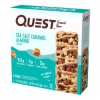 Quest Sea Salt Caramel Almond Snack Bar