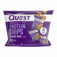 Quest Loaded Taco Tortilla Style Protein Chips - 4 ct / 1.1 oz