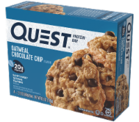 Quest Oatmeal Chocolate Chip Protein Bar