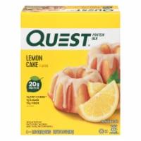 Quest Lemon Cake Flavor Protein Bars