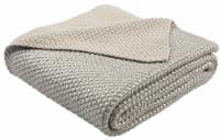 Tickled Grey Knit Throw Grey / Silver - 1 unit