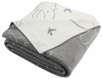Ella Knit Throw Grey - 1 unit