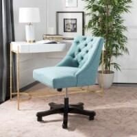 Soho Tufted Swivel Desk Chair Light Blue - 1 unit