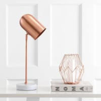Charlson Table Lamp Copper / White - 1 unit