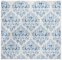 Safavieh Martha Stewart Collection Brentwood Square Rug - Cream/Blue - 1 ct