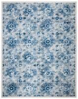 Martha Stewart Brentwood Rug - Cream/Blue - 8 x 10 ft