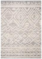 Martha Stewart Collection Lucia Shag Area Rug - Beige/White - 5.08 x 7.5 ft