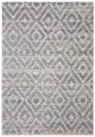 Safavieh Martha Stewart Collection Lucia Shag Area Rug - Light Gray/Dark Gray - 1 ct