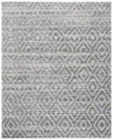 Safavieh Martha Stewart Collection Lucia Shag Area Rug - Light Gray/Dark Gray - 9 x 12 ft
