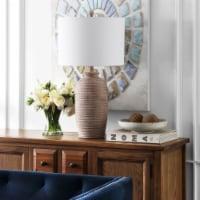 Bilsor Table Lamps Clear / Chrome - 1 unit