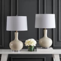 Nilla Table Lamps Cream / Clear - 1 unit